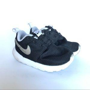 Nike Toddlers Running Sneakers Black Mesh
